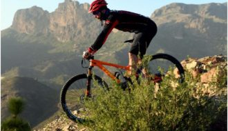 ciclista salobre